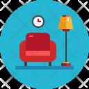 Sofa Furniture Couch Icon