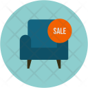 Sofa on Sale Icon