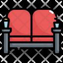 Sofa Seat Cinema Icon