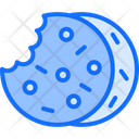 Soft Cookies Chocolate Chips Cookies Icon
