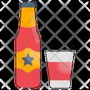 Lemonade Soda Water Icon