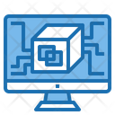 Software Big Data Blockchain Icon