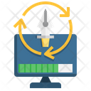 Software Plastic Production Icon