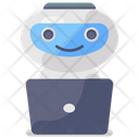 Software Agent Artificial Intelligence Intelligent Agent Icon