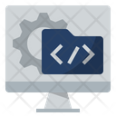 Software Development Coding Programming Icon