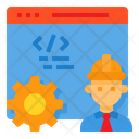 Browser Engineer Software Icon