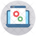Web Setting Web Development Software Development Icon