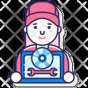 Software Engineer Woman Software Engineer Software Developer Icon