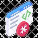 Programming Engineering Programming Maintenance Programming Setting Icon