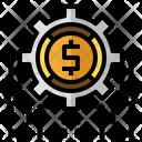 Software Engineering Cogwheel Setting Icon