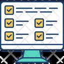 Schedule Software Routine Icon