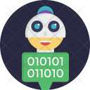 Software Agent Robot Icon