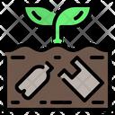 Soil Ground Plastic Icon