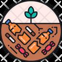 Soil Pollution Degradation Pollution Soil Icon