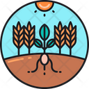 Soil Quality Ecosystem Farm Icon