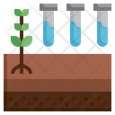 Soil Test Plant Test Soil Icon