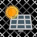 Solar Panel System Icon