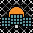 Solar Energy Industry Icon