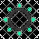 Solar Sun Star Icon