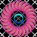 Solar Moons Logogram Icon