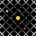 Solar System Color Icon