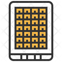 Solar Powered Panel Icon