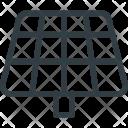Solar Panel Electricity Icon