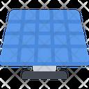 Solar Battery Energy Solar Panel Icon
