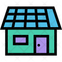 Solar Battery Ecology Icon