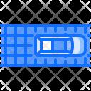 Solar Battery Road Icon