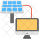 Solar Connection Icon