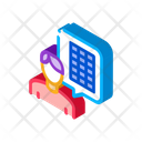 Solar Consultant Outlie Icon