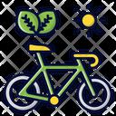 Ride Bike Bike Sun Icon
