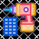 Solar Drill Icon