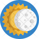 Solar Eclipse Solar Sun Icon
