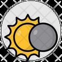 Solar Eclipse Solar System Planet Icon