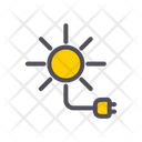 Solar Energy Solar Electricity Icon