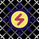 Sun Solar Power Icon