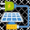 Solar Energy Solar Panel Solar Power Icon