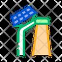 Solar Battery Street Icon