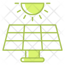Solar Energy Renewable Icon