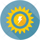 Solar Energy Power Icon