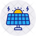 Solar Energy Eco Energy Icon