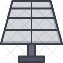Solar Panel Power Icon