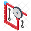 Solar Energy Monitoring Icon