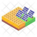 Solar Panels Solar Farming Solar Energy Icon