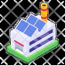 Solar Home Icon