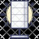 Solar Light Icon