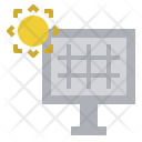 Solar Panel Cell Icon