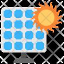 Solar Energy Electricity Icon